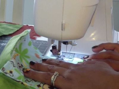 My Rag Quilt Tutorial - Part 3: Let's Start Sewing!!