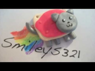 Nyan Cat - Polymer Clay Tutorial