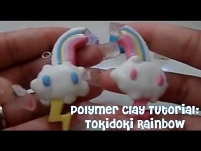 Polymer Clay Tutorial: Tokidoki Rainbow Friendship Charm