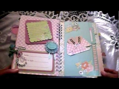 Pregnancy Journal Mini Album
