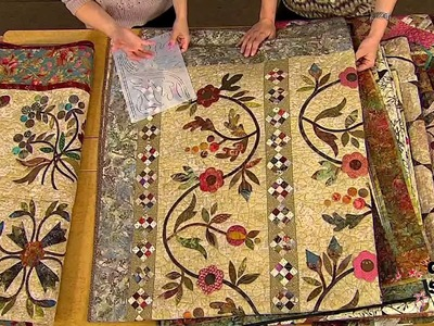 Quilt with the Stars: Edyta Sitar, Trunk Show