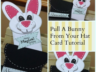 Rabbit Out of Your Hat Card Tutorial and Available Template and Digi Stamps