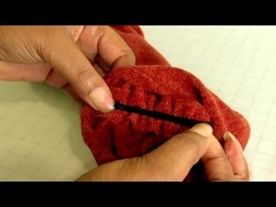 Sewing with Narrow Elastic