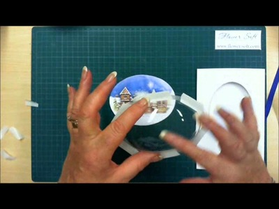 Snow Globes by Flower Soft Card Making Tutorial