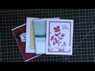 Stampin' Up Cards From the 2013-2014 Catalog