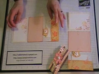 Stampin' Up! Tutorial~Tri-Fold Gift Card Holder.MOD