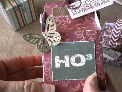Tags, Bags, Boxes & More 2 - Favor Boxes