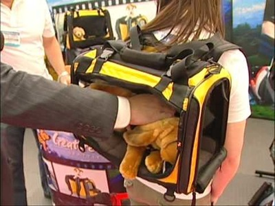 TAKE YOUR DOG TO SCHOOL OR WORK with Creature Leisure