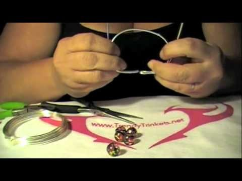 Wire Wrap Bracelet How-to Instructions by Trendy Trinkets