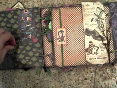 Alice In Wonderland Halloween Mini Album By:Marion Smith