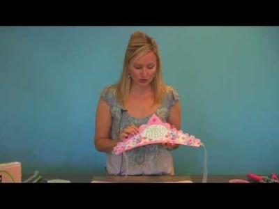 Birthday Crown (Step 1) - Using the Storybook Cricut Cartridge