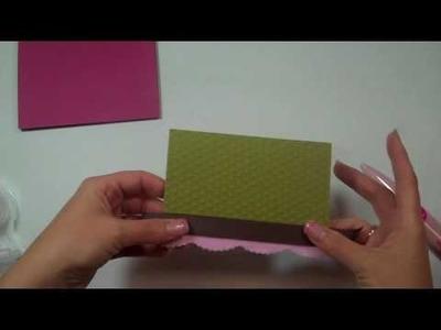 Cricut Episode 223 - Monogram Card with Botanicals