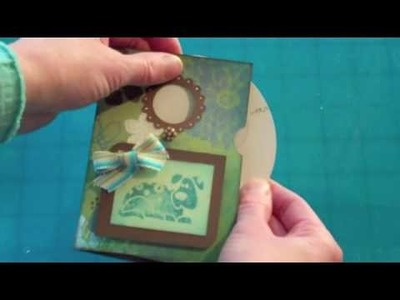 Cricut Wild Card Pinwheel card Tips & Ideas