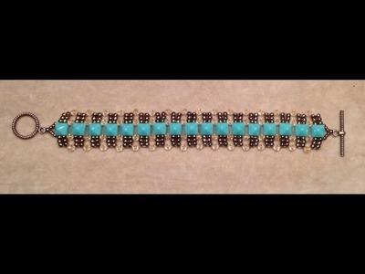 Crystals 'n Studs Bracelet Tutorial