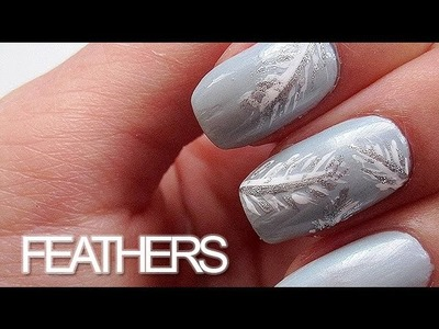 Feathers Nail Art Tutorial