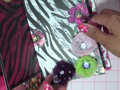 Femme Fatale Paper Bag Mini, Part 5: Embellishing