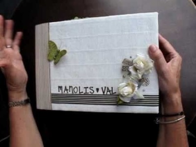 Guest Book for Manolis and Vals wedding