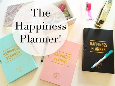 Happiness Planner | Review & Flip Through!