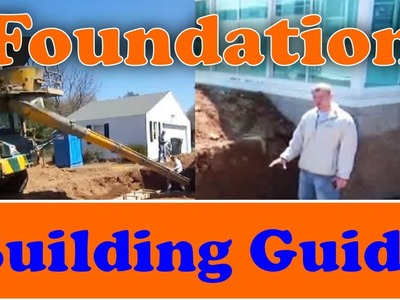 How to Build a Foundation from Start to Finish