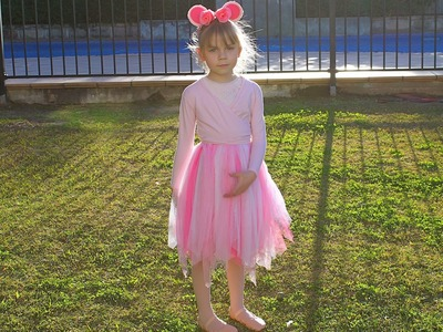 How to create an Angelina Ballerina dress up
