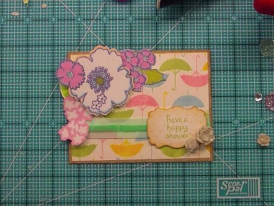 How to create your own patterned paper with stamps