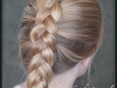 How to do a Dutch Braid or inside out french braid