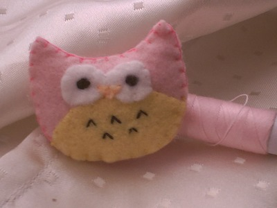 How to make a cute & simple owl plushie.  ◠‿◠ ( requested by ChattyPrincess )