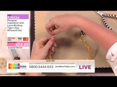 [How to make a Wirework Cabachon] - JewelleryMaker DI 29.5.14