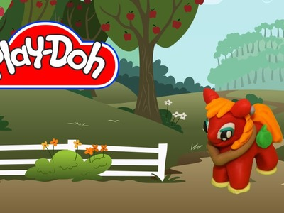 How to make Play Doh Big Macintosh My Little Pony