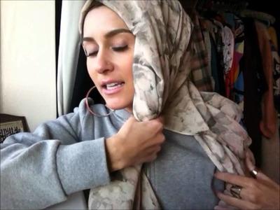How to wear hijab stylish taliban.turban hijab tutorial