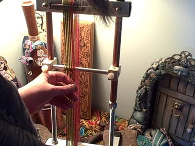 How to weave Inkle bands on the Mirrix Loom part 1