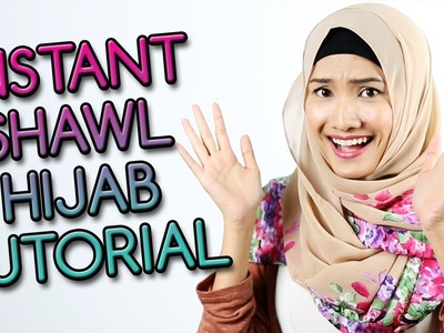 Instant Shawl Twist HIJAB TUTORIAL 2015 by Hijab2go.com