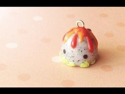 Kawaii Volcano │ Polymer Clay Tutorial