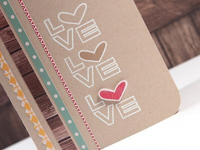 Love x 3 - Make a Card Monday #205