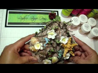 "LSG  ""Under The Sea"" DT Project:  Altered SeaShell &  Mini Album"