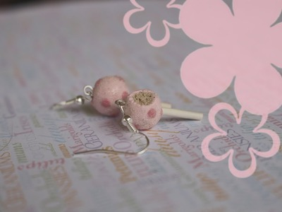 MeiIris' Starbucks Cake Pops Earrings