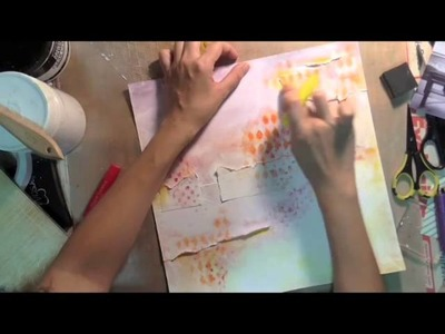 Mixed Media tutorial for Blue Fern Studios