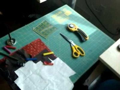 Paper Piecing Tutorial by Artisania -  Workplace set-up