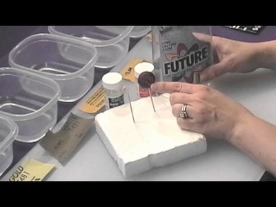 Polymer Clay Projects: Finishing & Sanding Pt 1