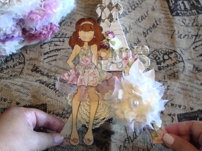 Prima Mixed Media Doll Stamps NEW Collection and Projects