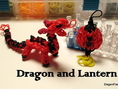 Rainbow Loom Dragon Charm.action Figure - How to