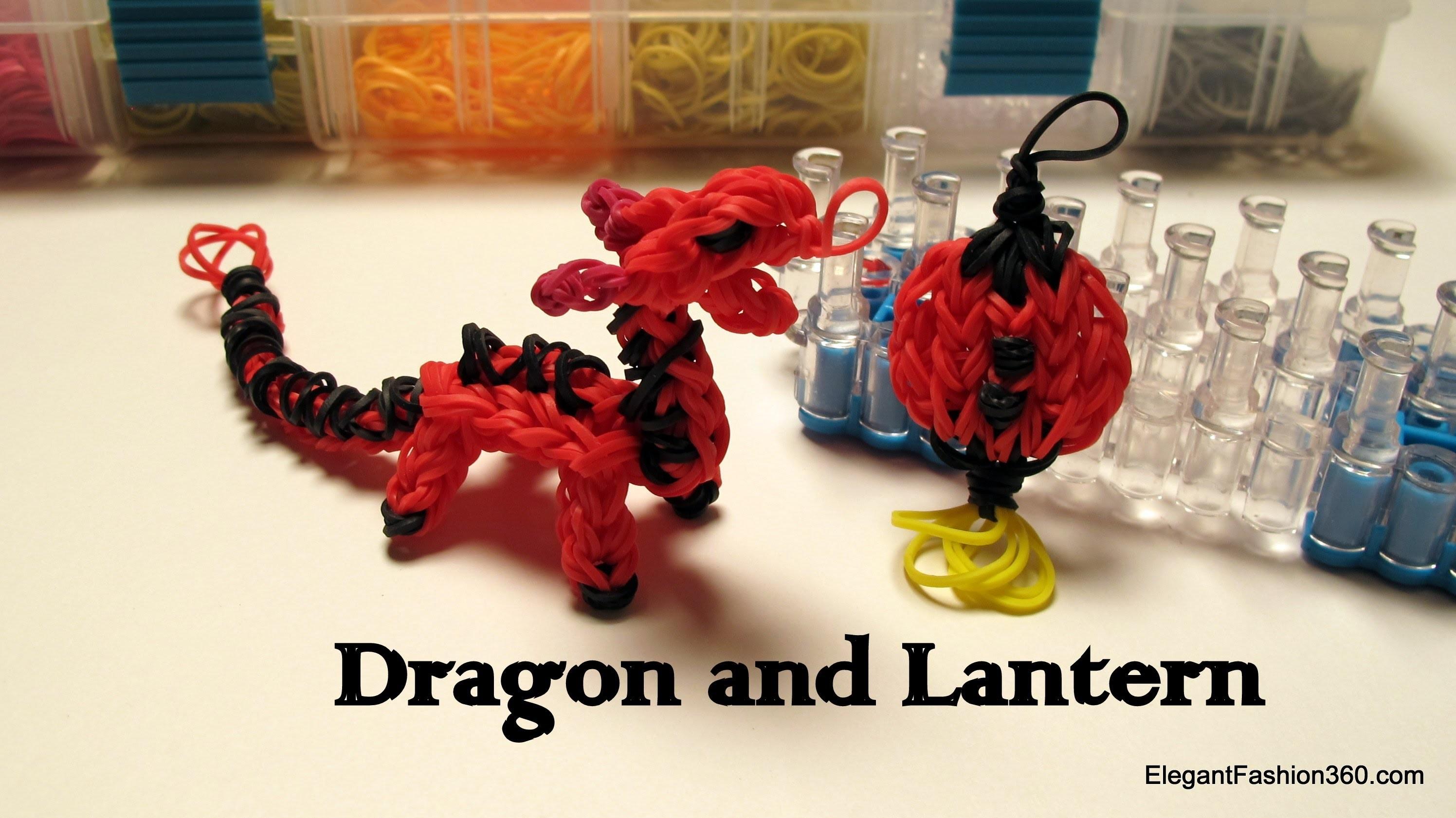 Rainbow Loom Dragon Charm.action Figure - How to