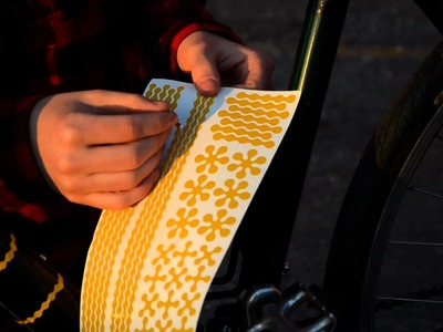 RydeSafe Reflective Bike Decals by TONKY
