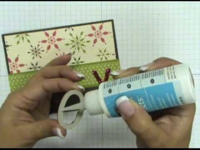 Stampin' Up! Tutorial: Joy Christmas Card