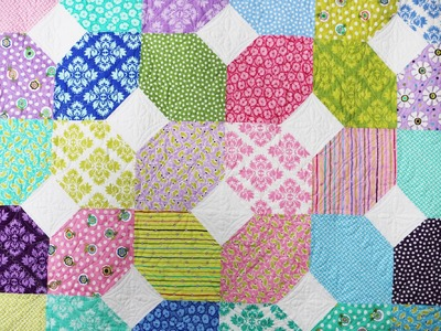 Stitch 'n Flip for Piecing Quilt Blocks by Me & My Sister Designs featuring XOXO Quilt Pattern