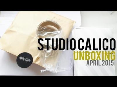 Studio Calico Unboxing April 2015