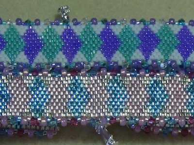 (Tutorial) Diamond Diva Bracelet PART 2 (Video 43)