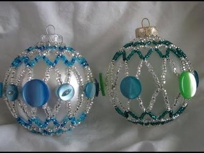 Vintage Button Ornament ~ Part 2 of 2