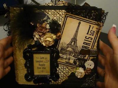 Vintage Paris Mini Album
