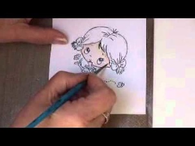 Water colouring with Distress Inks Pt 1 Skin Tones (card-making-magic.com)